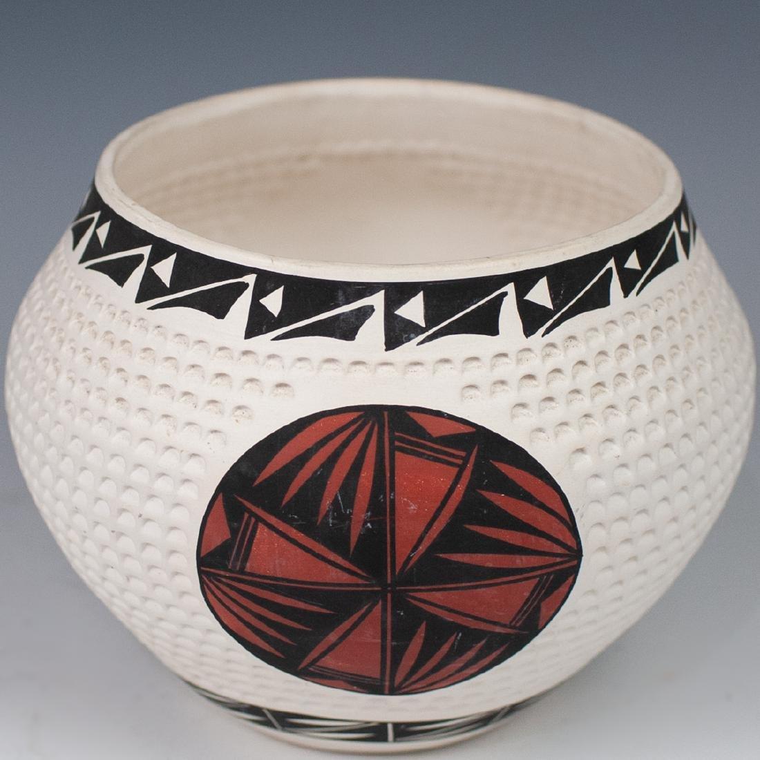 (4 Pc) Lot Of Vintage Acoma Pottery - 5