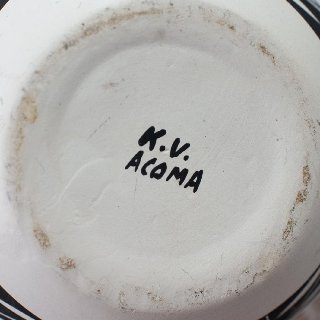 (4 Pc) Lot Of Vintage Acoma Pottery - 7