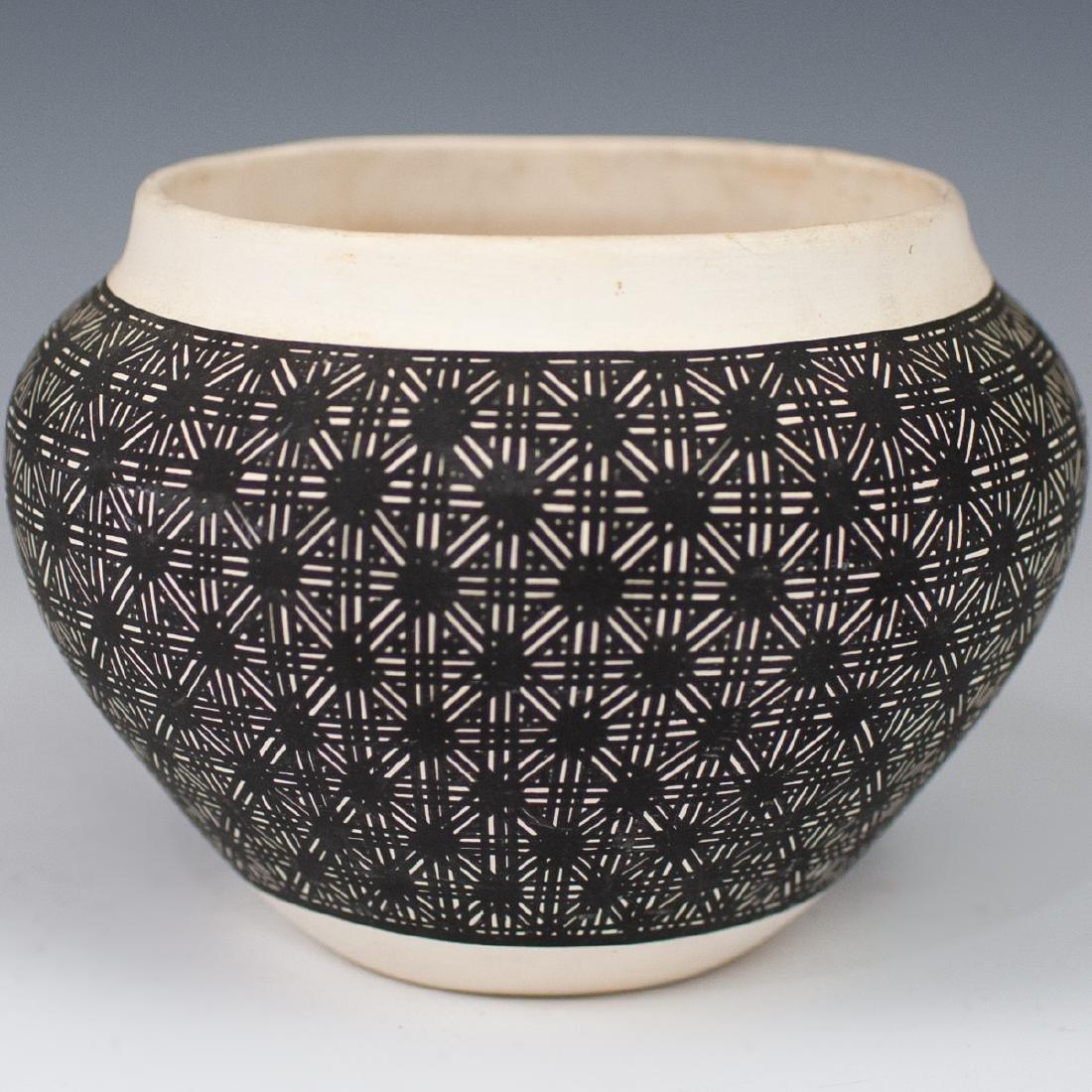 (4 Pc) Lot Of Vintage Acoma Pottery - 8
