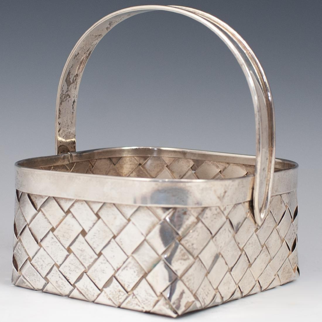 Vintage Sterling Cartier Basket