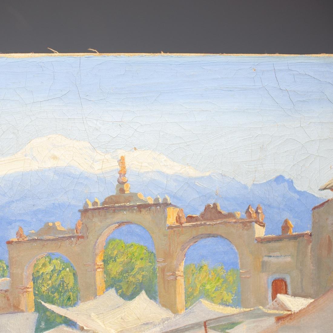 Oil on Canvas - 4