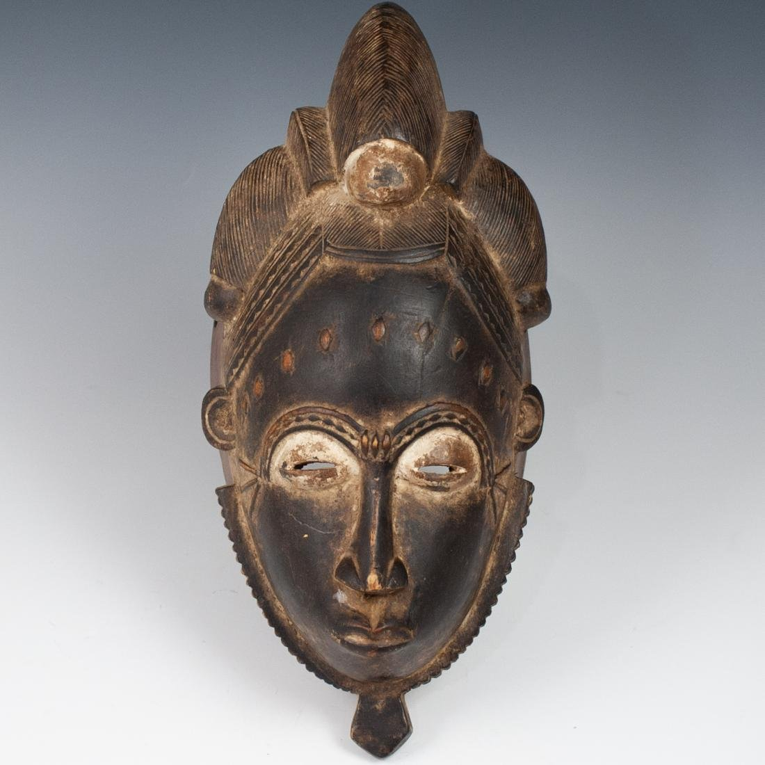 Carved Wooden African Mask