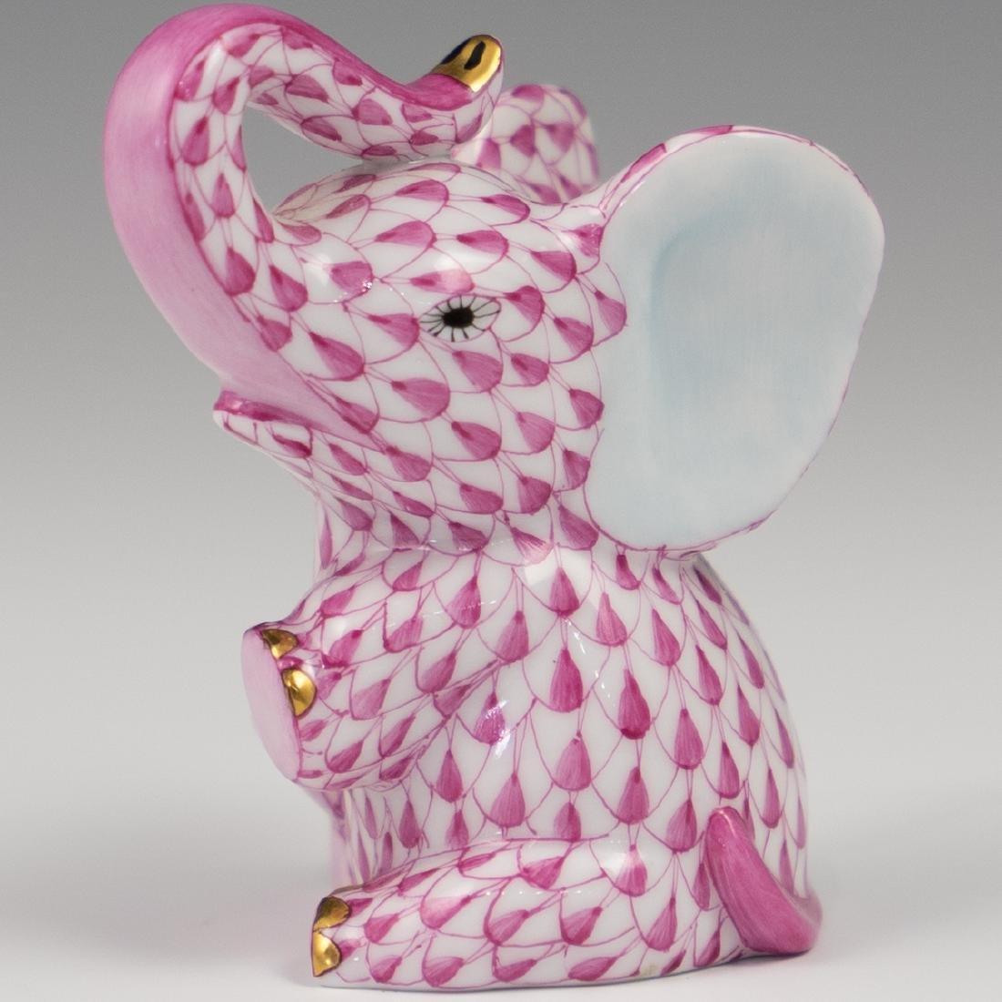 "Herend Porcelain ""Baby Elephant"""
