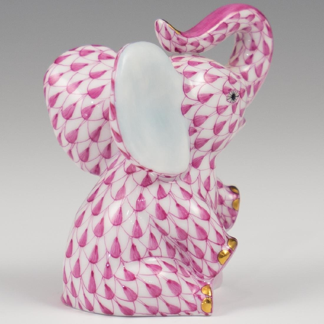"Herend Porcelain ""Baby Elephant"" - 2"