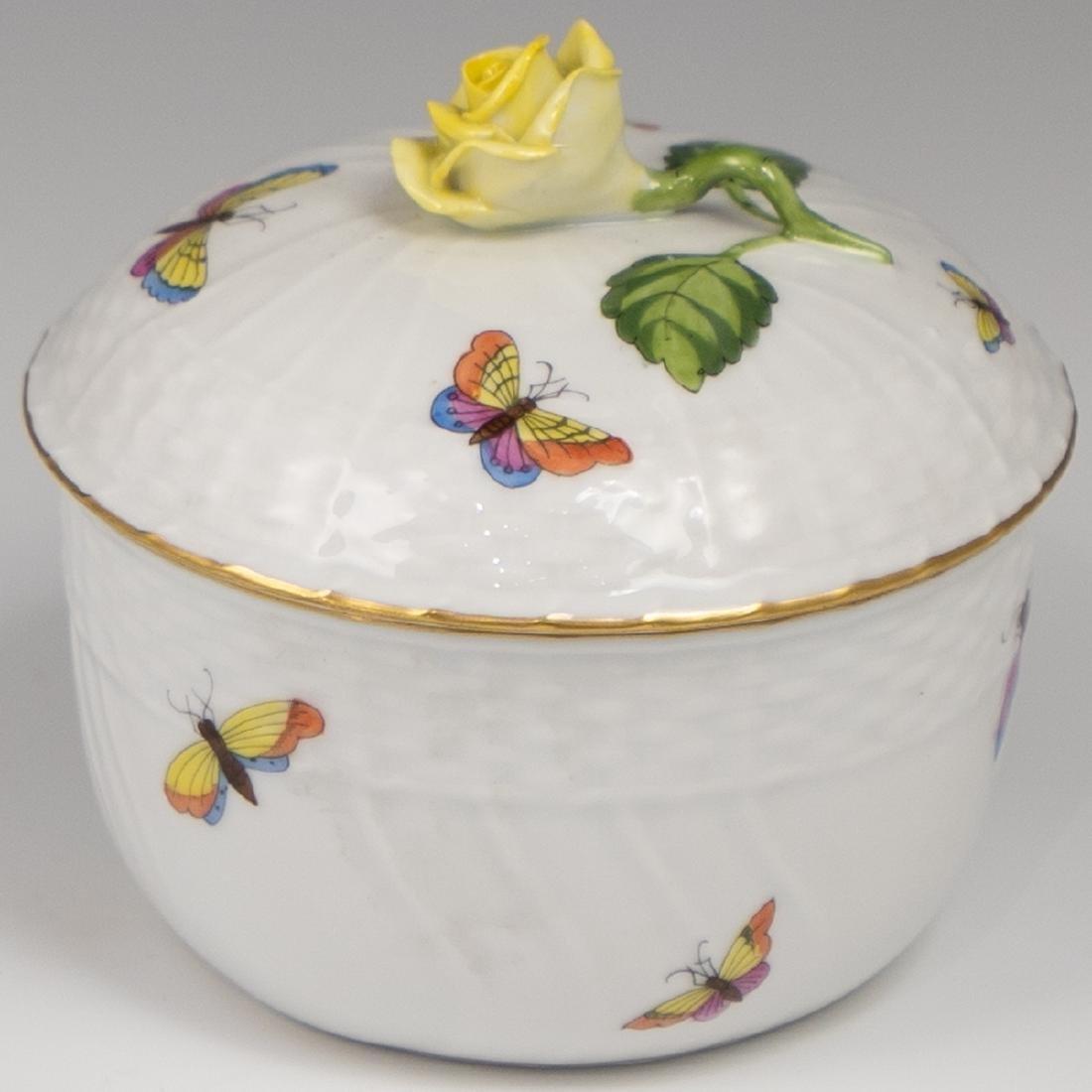 Herend Porcelain Lidded Bowl
