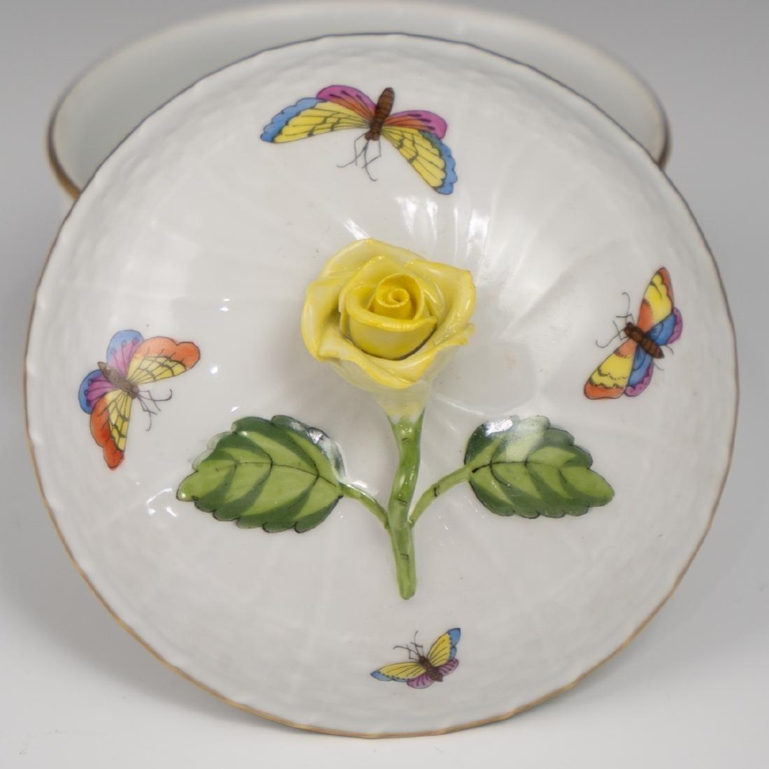 Herend Porcelain Lidded Bowl - 2