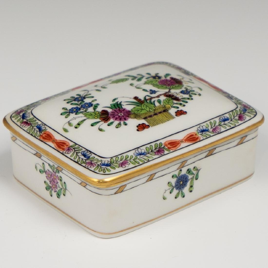 Herend Porcelain Trinket Box
