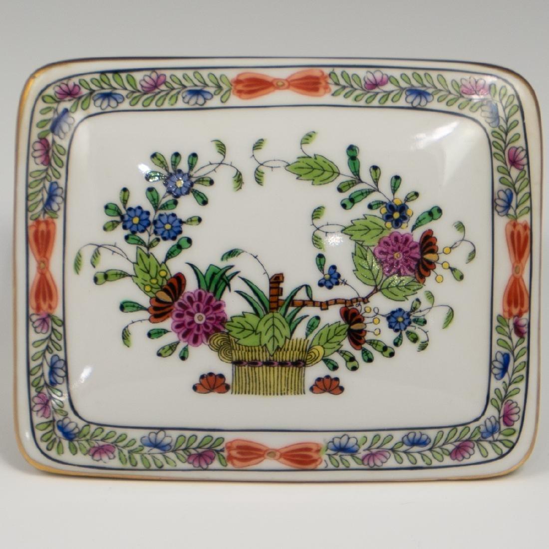 Herend Porcelain Trinket Box - 2