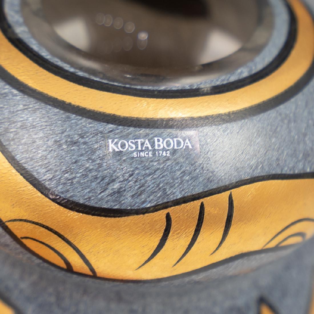 Kosta Boda Double Guard Crystal Vase - 2