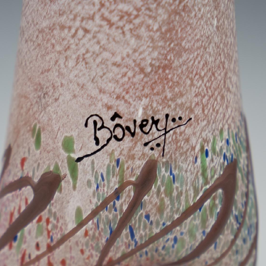 Bovery Art Glass Vase - 3
