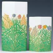 Rosenthal Wolf Bauer Porcelain Vases