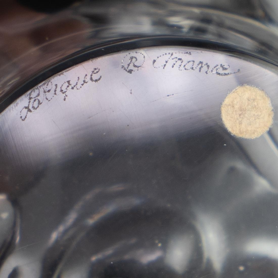 Large Lalique Champs Elysee Bowl - 4