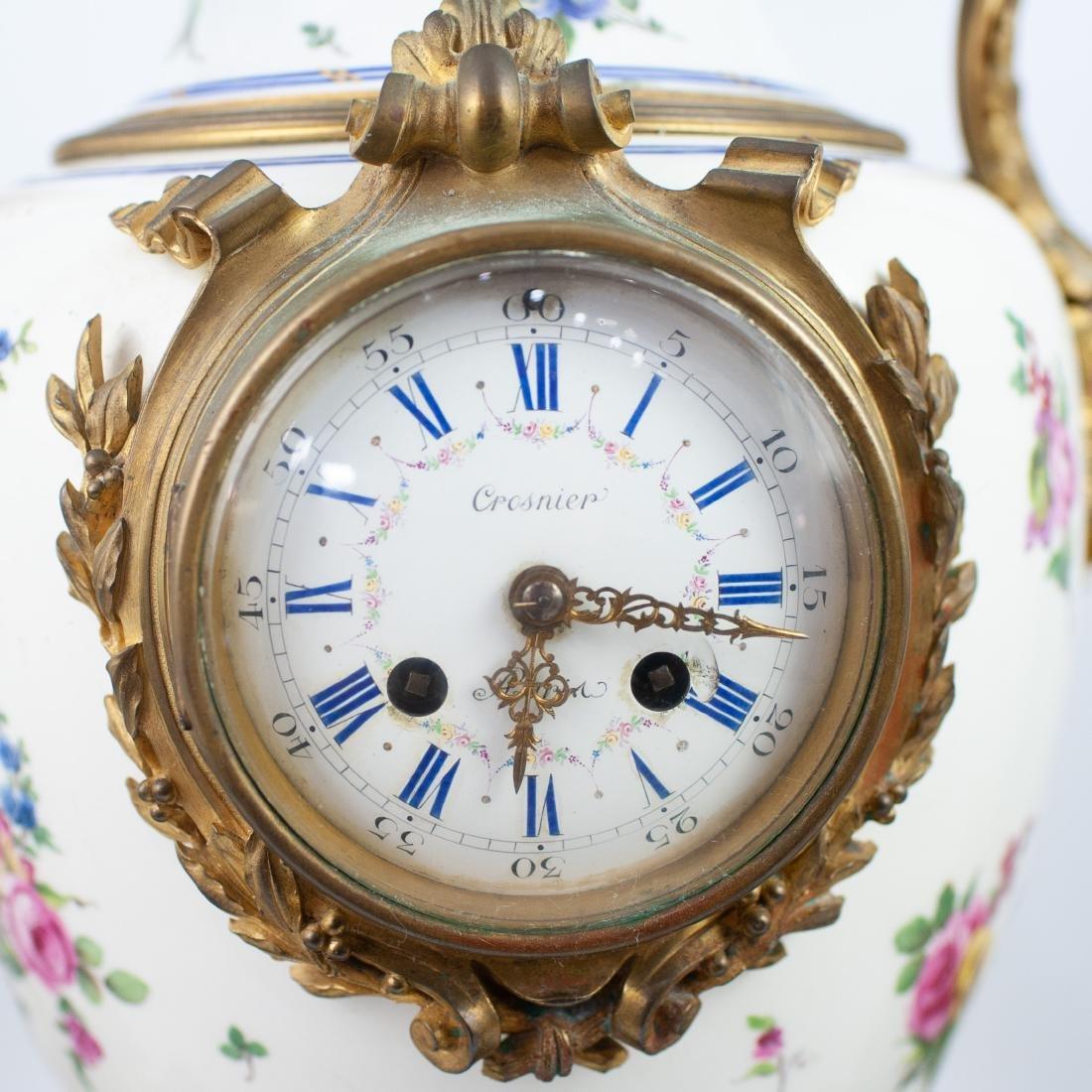 19th Cent. Sevres Bronze Gilt Clock - 2