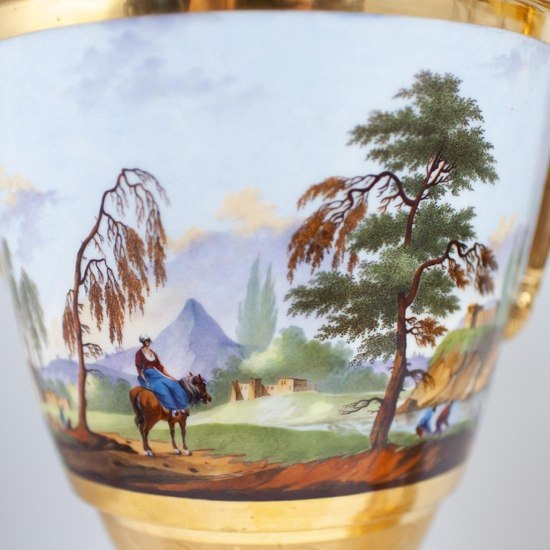 Pair Of 19th Cent. Sevres Porcelain Urns - 10