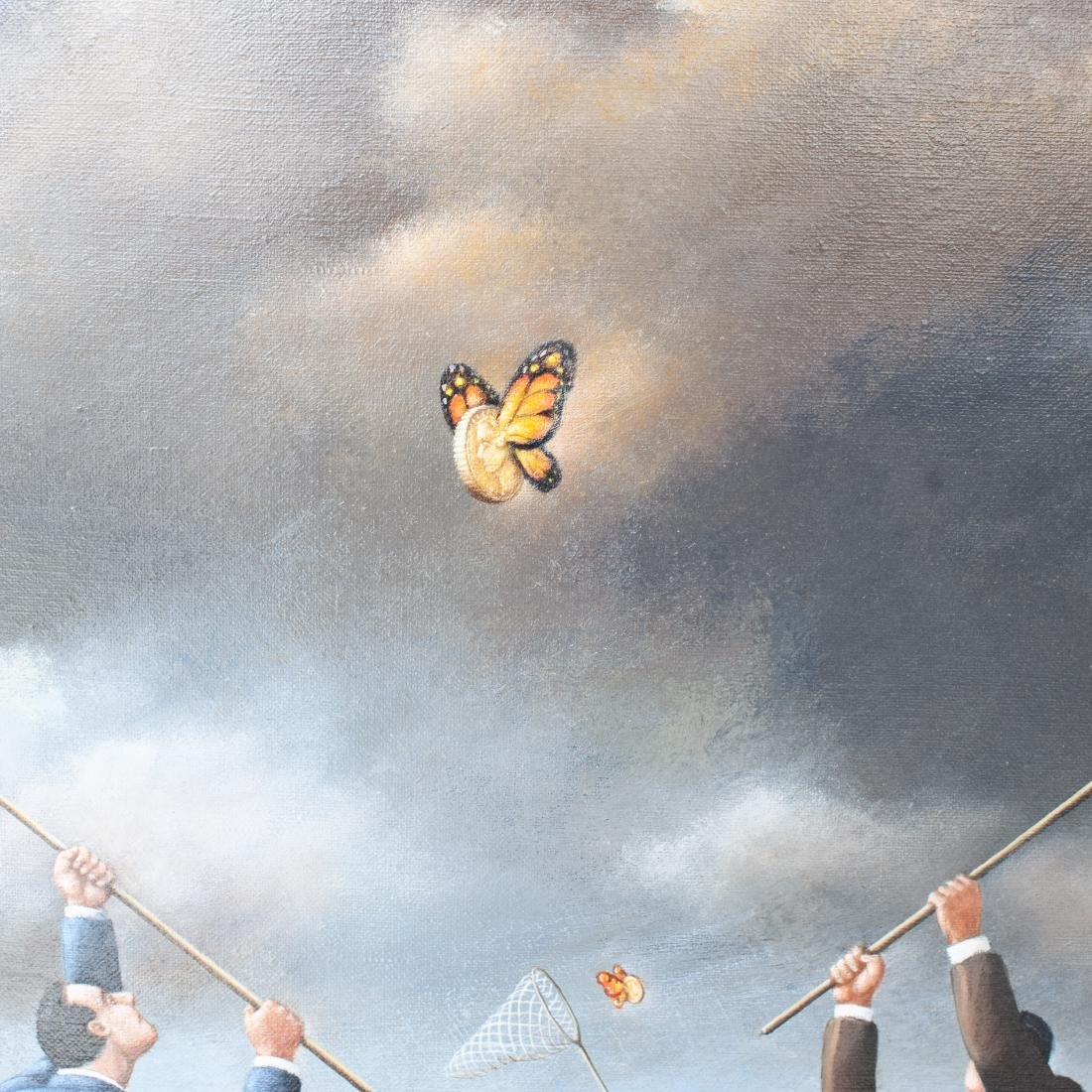 Rafal Olbinski (Poland. 1943-Present) Oil On Canvas - 2