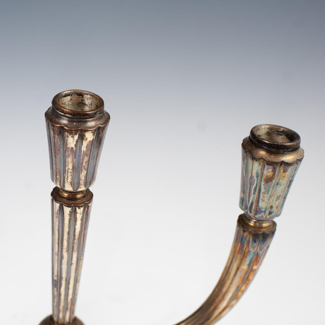 German Weighted Sterling Candle Holder - 2