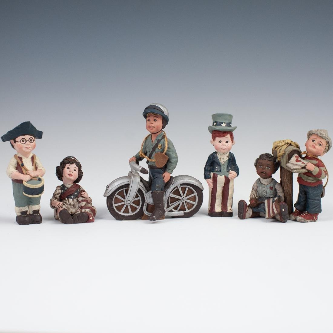(5) Sarah's Attic Figurines