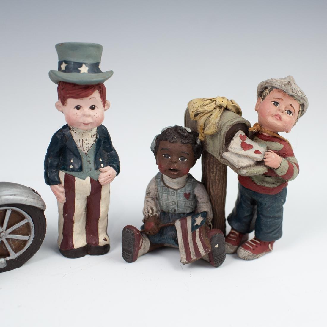 (5) Sarah's Attic Figurines - 4