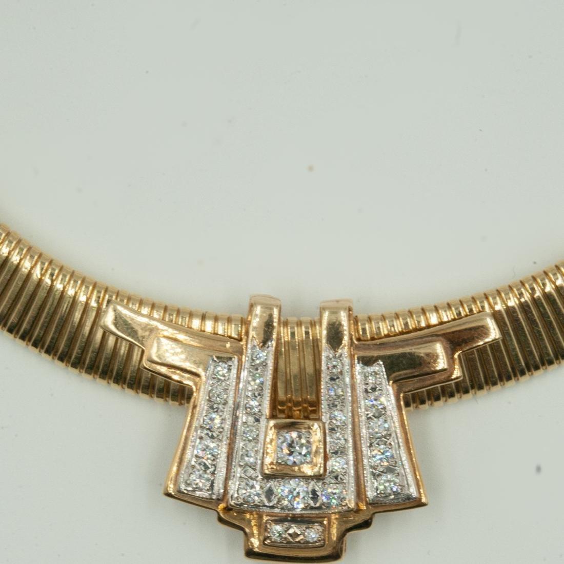 Gold & Diamond Jewelry Set - 6