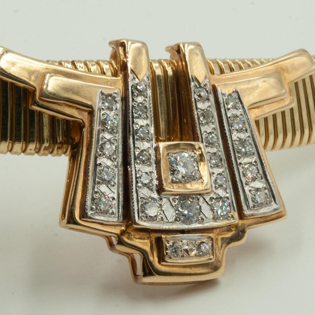 Gold & Diamond Jewelry Set - 7