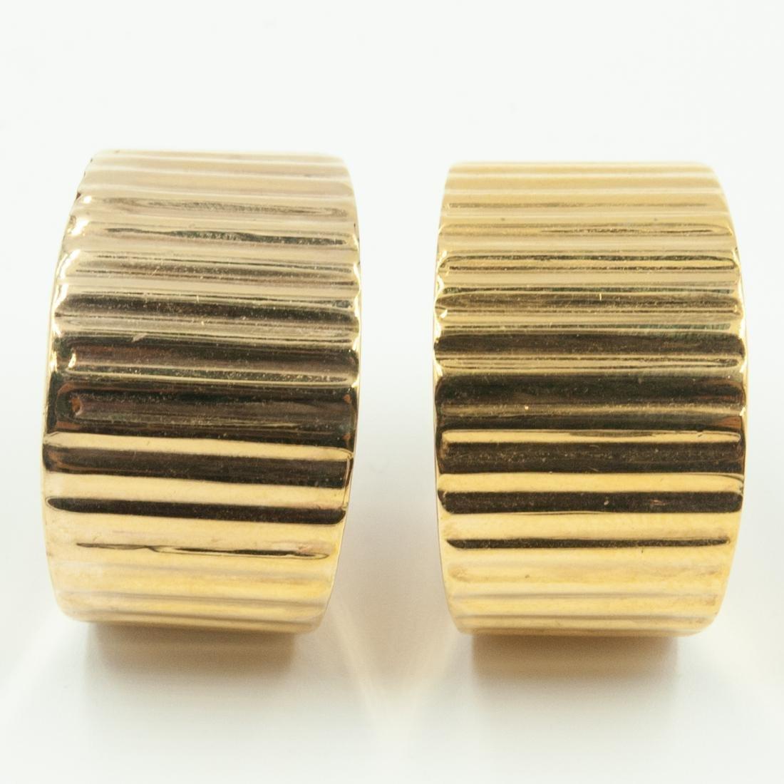 Gold & Diamond Jewelry Set - 9