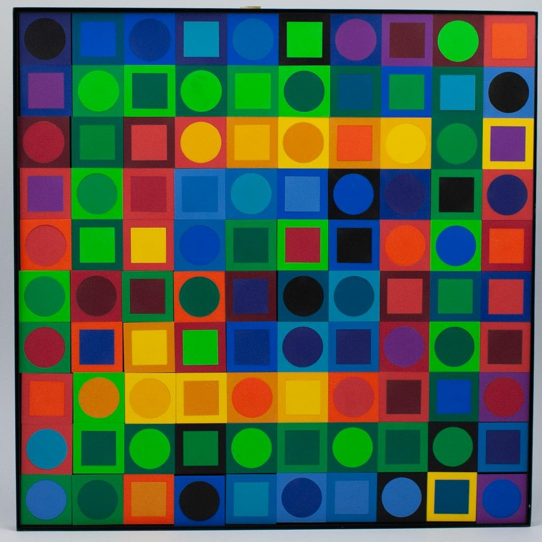 Victor Vasarely Planetary Folklore Participations No. 1
