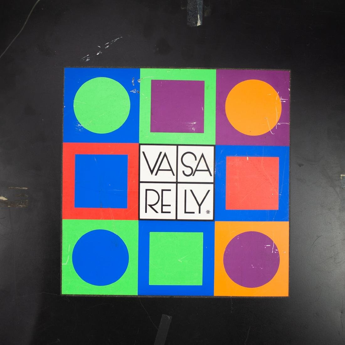 Victor Vasarely Planetary Folklore Participations No. 1 - 4