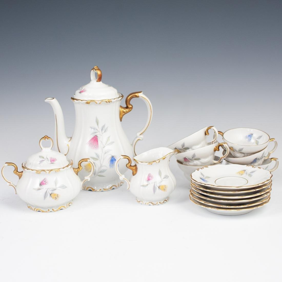 Edelstein Bavaria Porcelain Tea Set