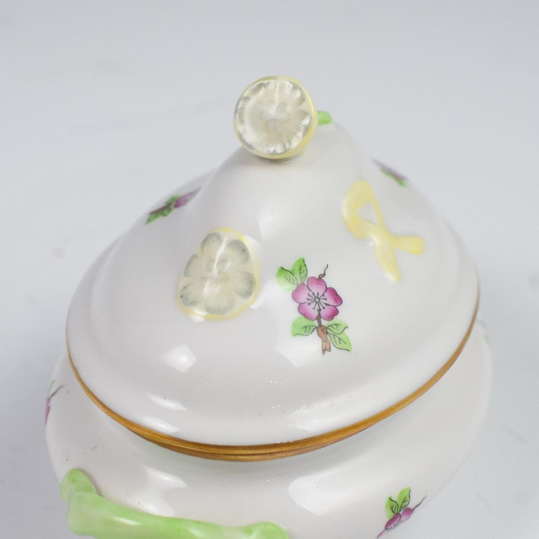 Herend Porcelain Miniature Tureen - 2
