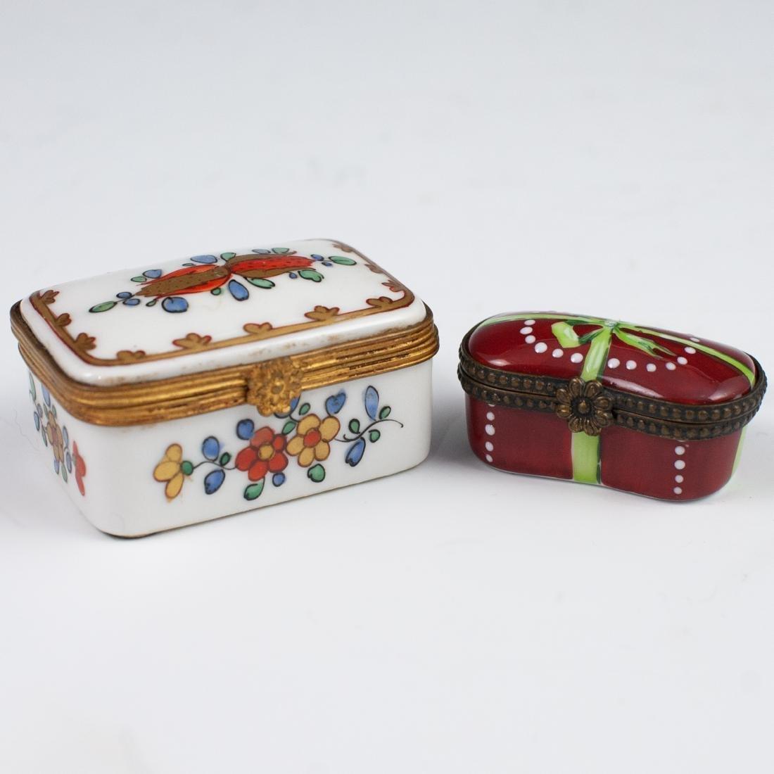 Limoges Porcelain Pill Boxes