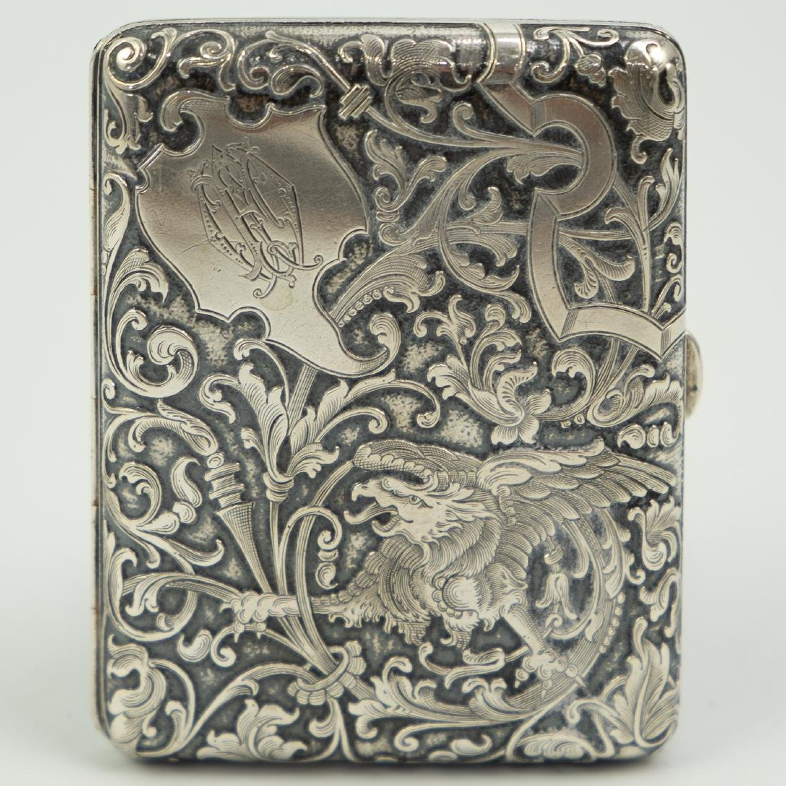 Austrian 900 Silver Card Case