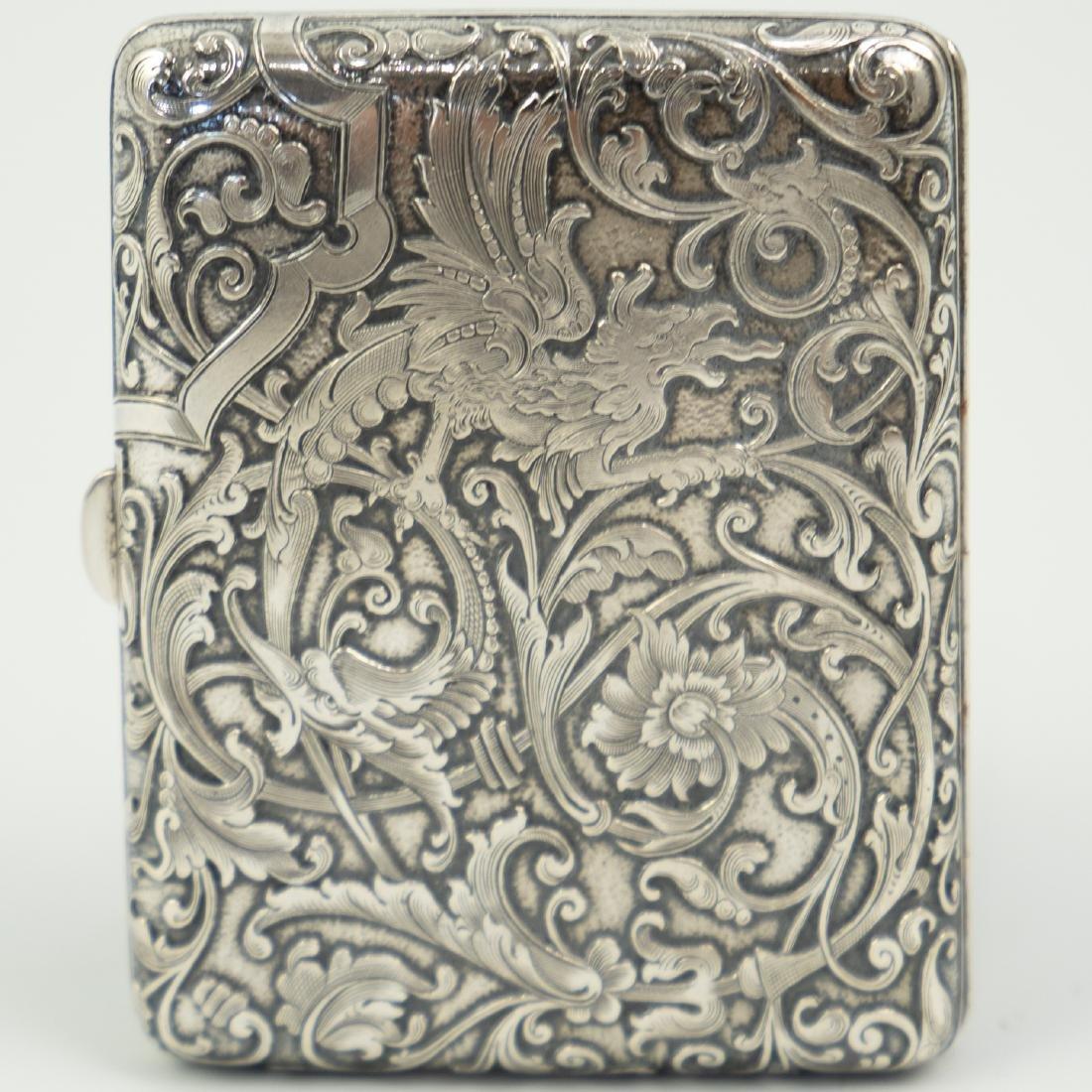 Austrian 900 Silver Card Case - 2
