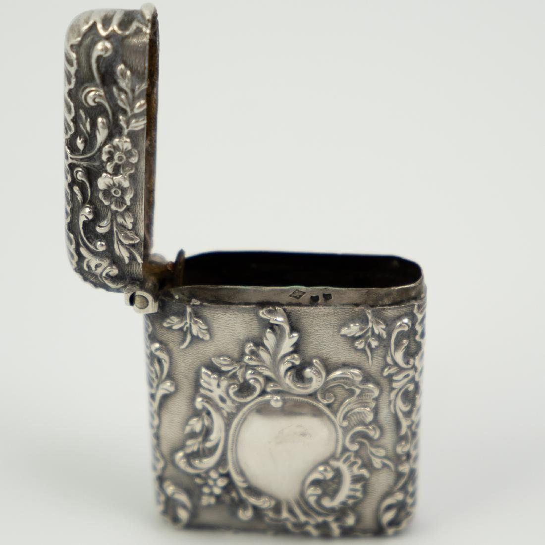 French Silver Match / Vesta Case - 4