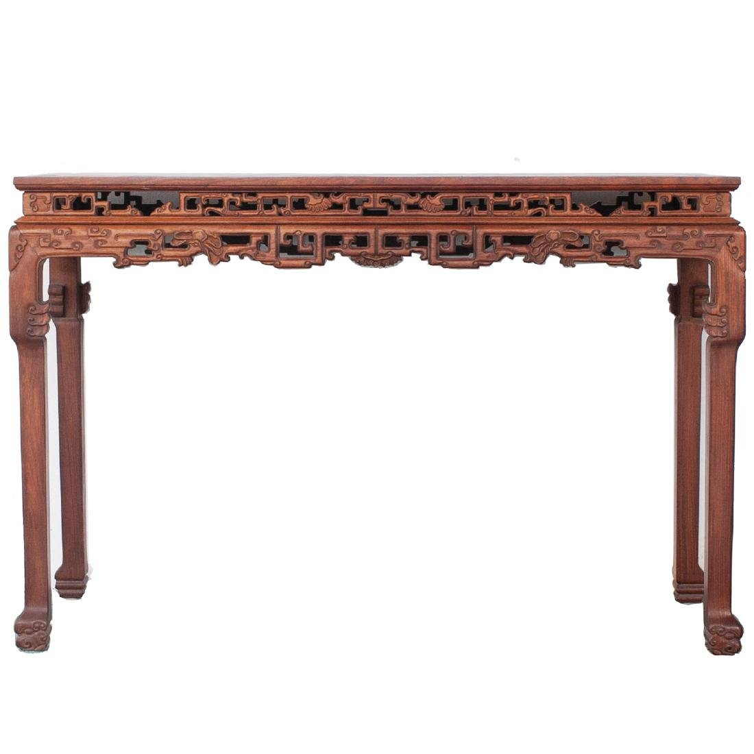 Large Chinese Wooden Altar Table