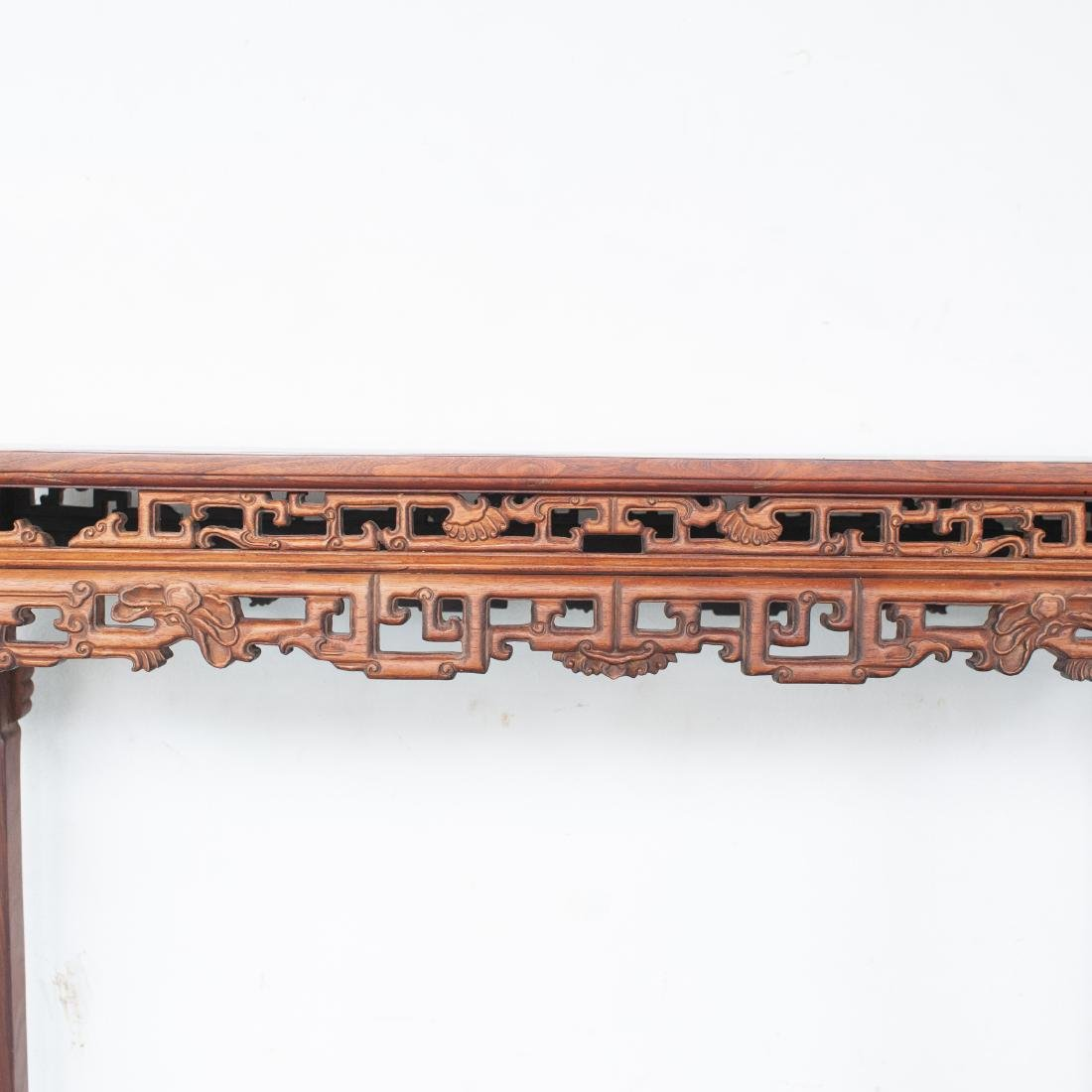 Large Chinese Wooden Altar Table - 3