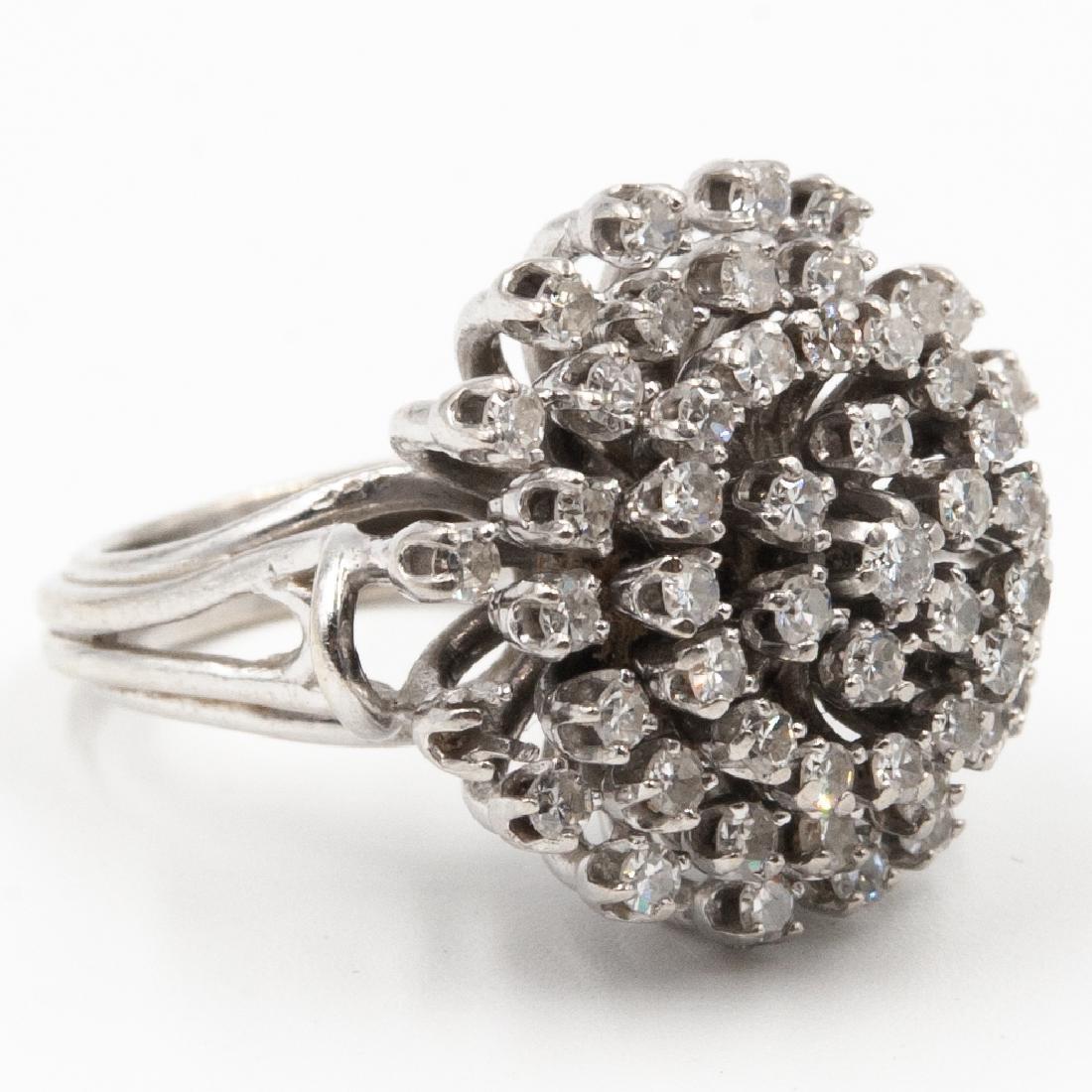 14k Gold & Diamond Ring - 2