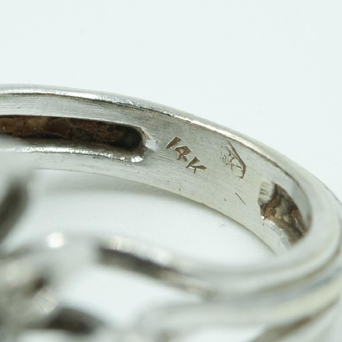 14k Gold & Diamond Ring - 3