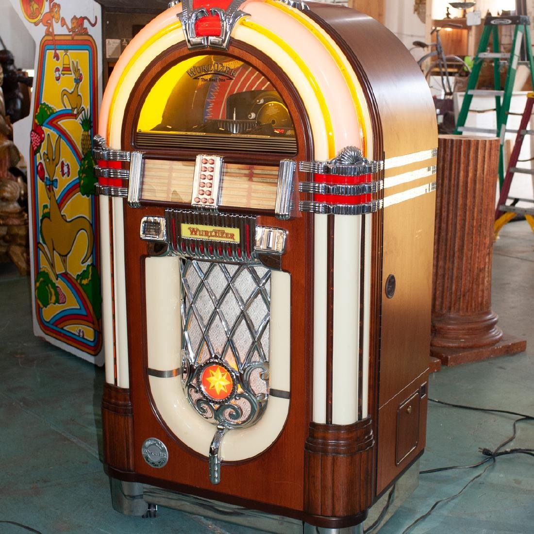 "Wurlitzer ""One More Time"" 1015 Jukebox - 6"