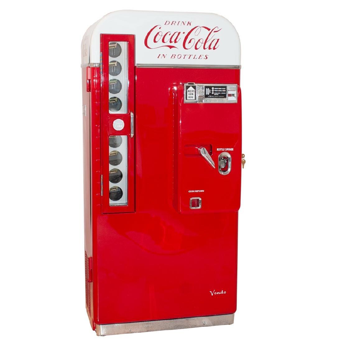 Coca-Cola Vendo 81 Vending Machine