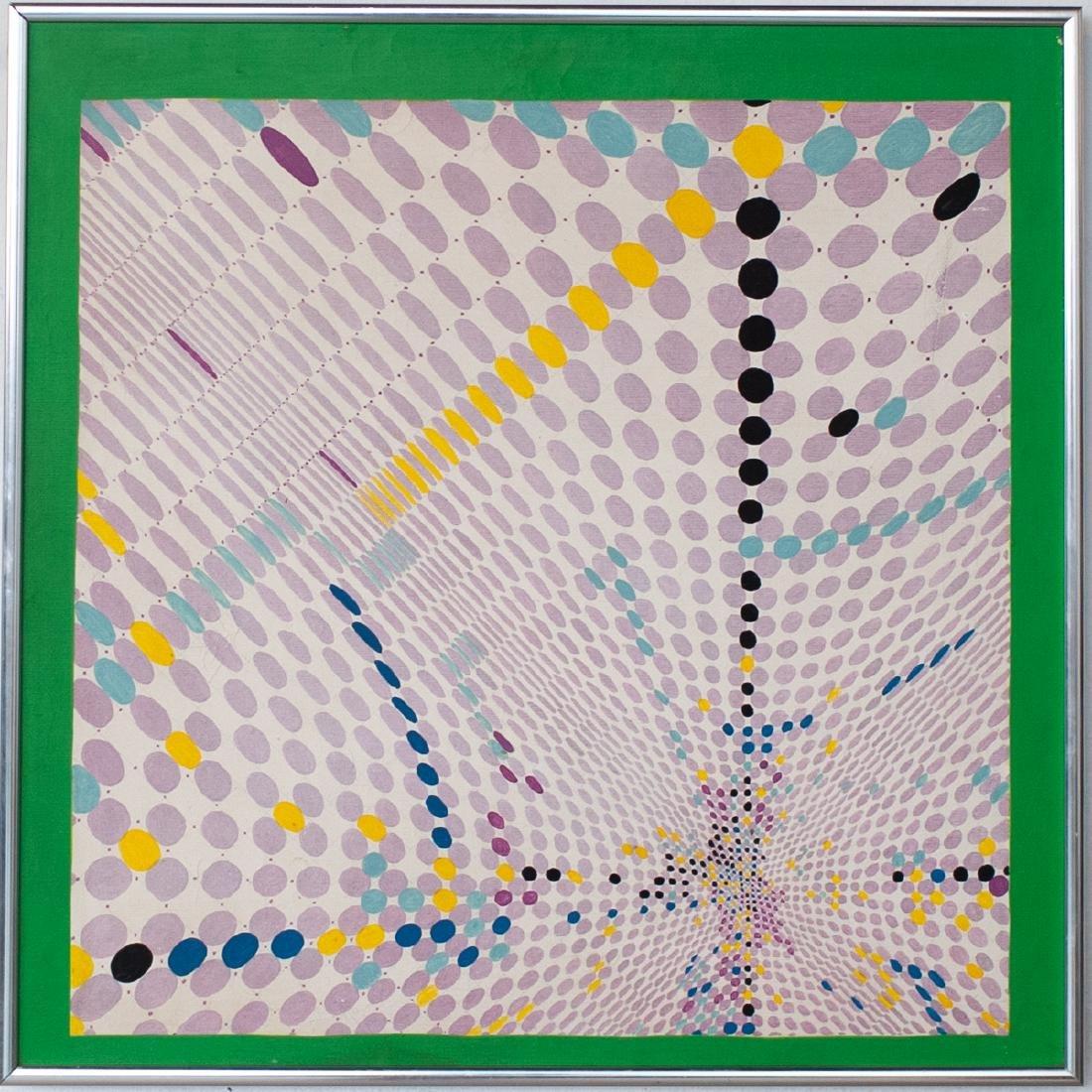 "Carlos Silva (Argentine. 1930-1987) ""Almagro"" Painting"