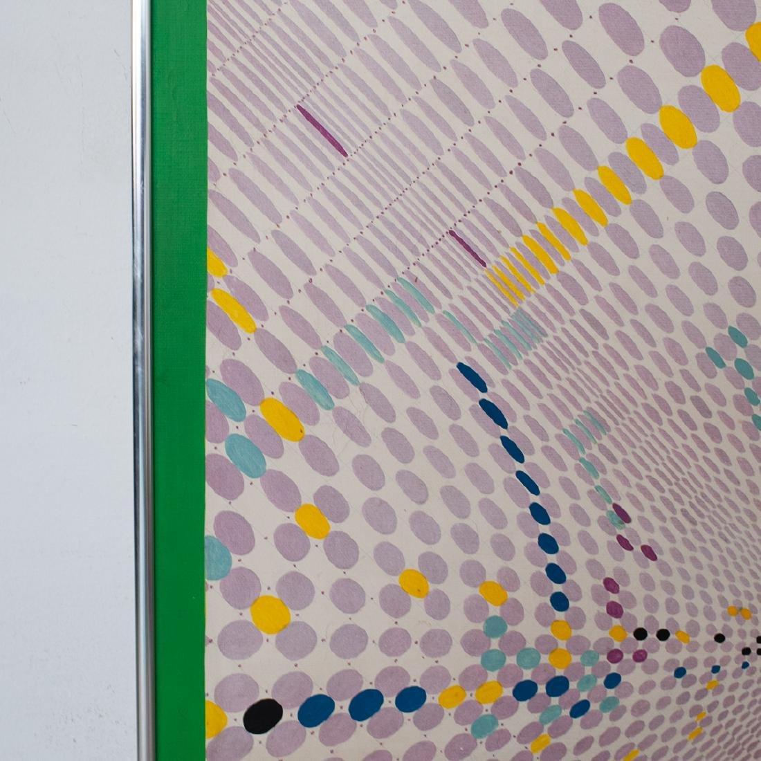 "Carlos Silva (Argentine. 1930-1987) ""Almagro"" Painting - 3"