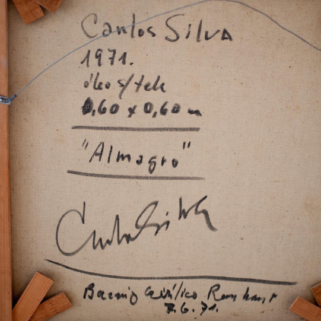 "Carlos Silva (Argentine. 1930-1987) ""Almagro"" Painting - 5"