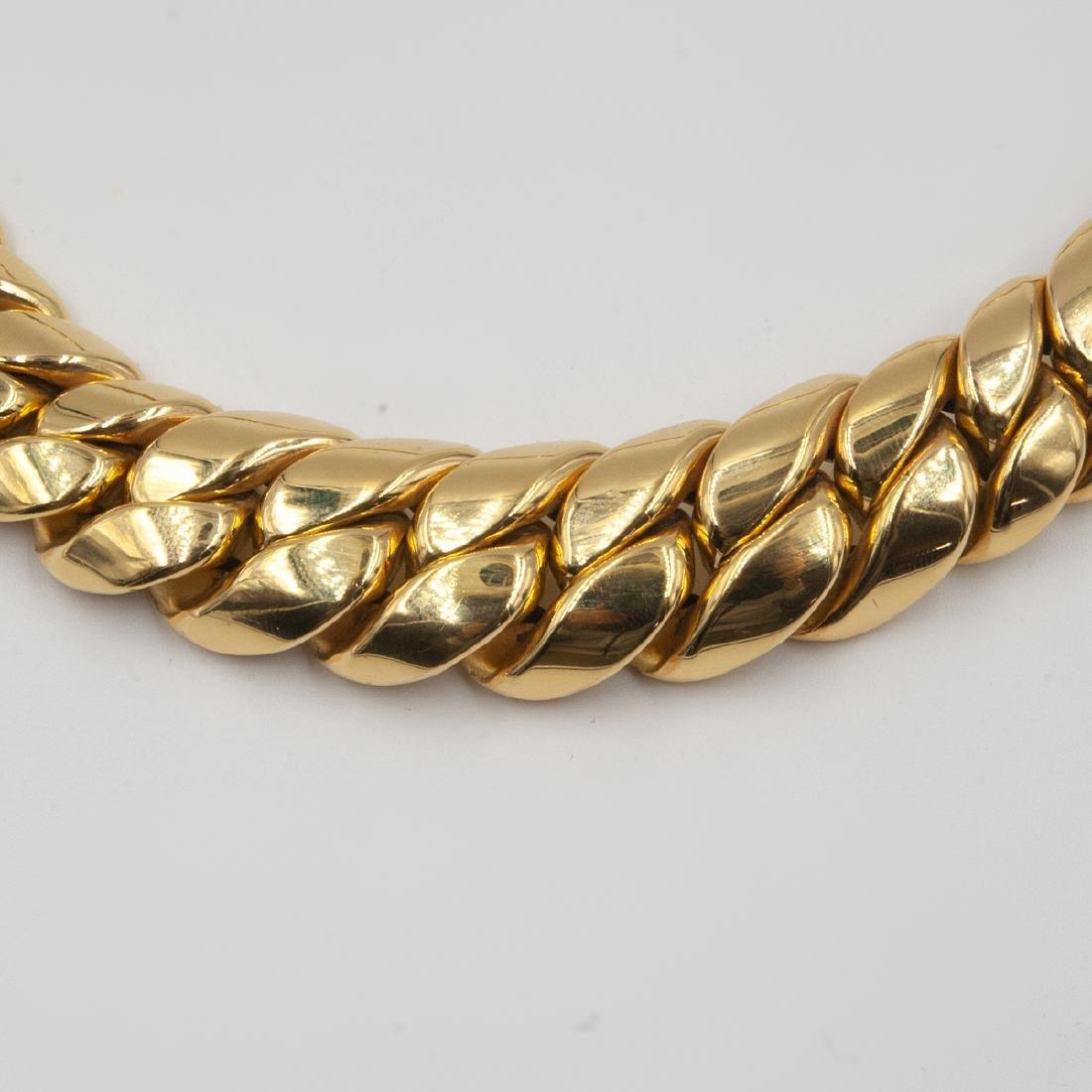 14K Gold Cuban Link Necklace - 2