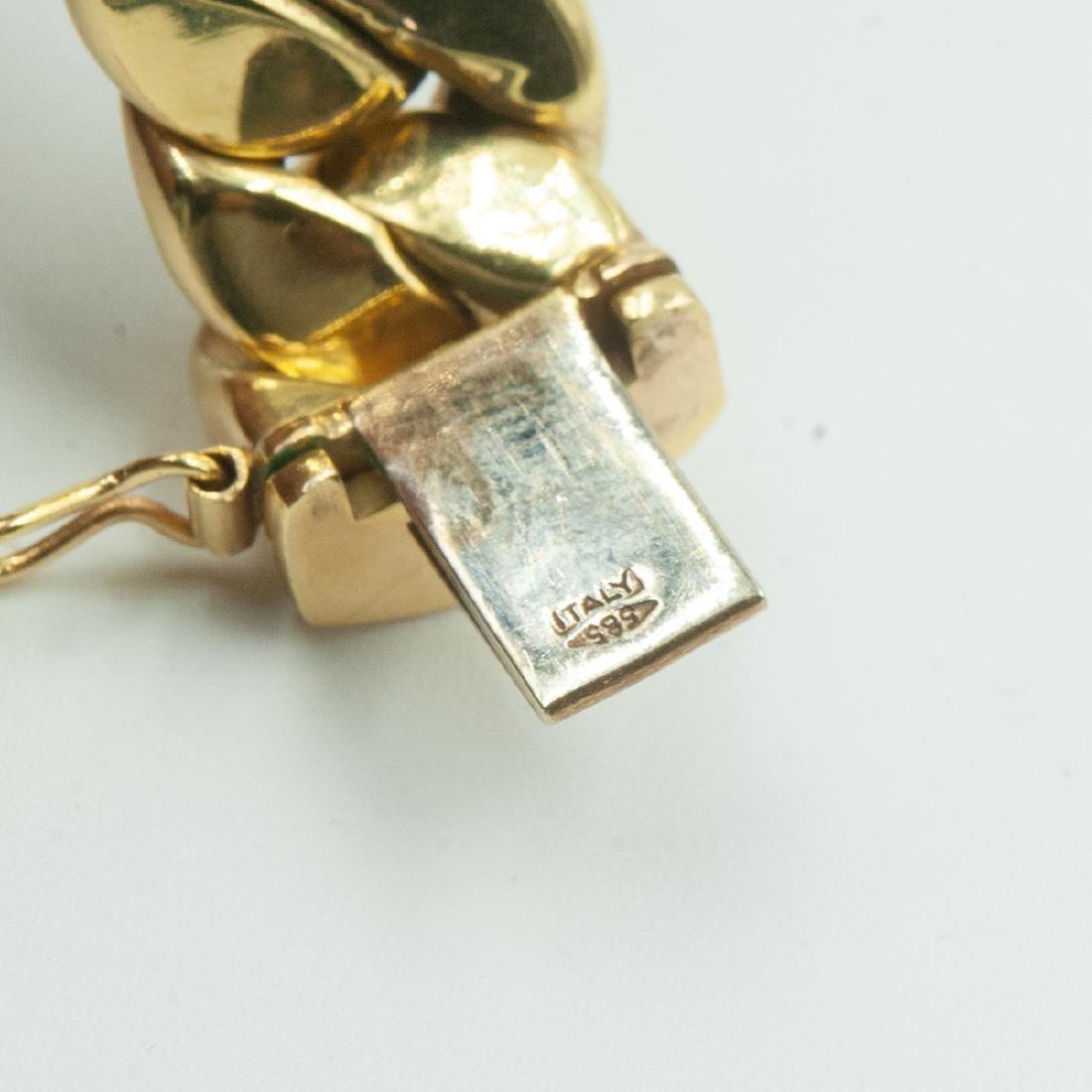 14K Gold Cuban Link Necklace - 3