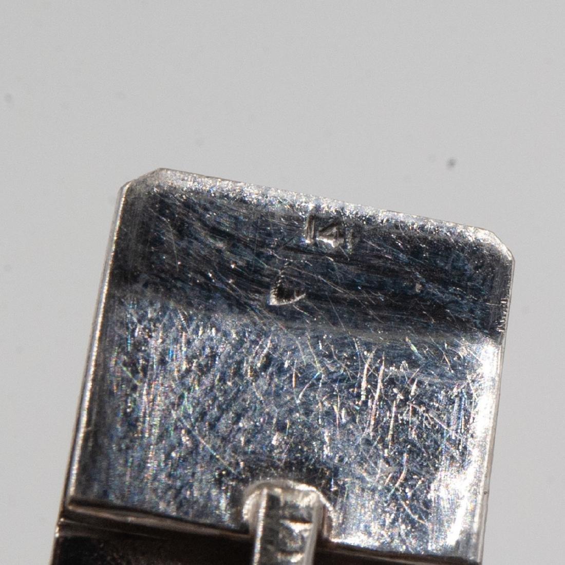 14k Gold, Diamond and Pearl Bracelet - 4