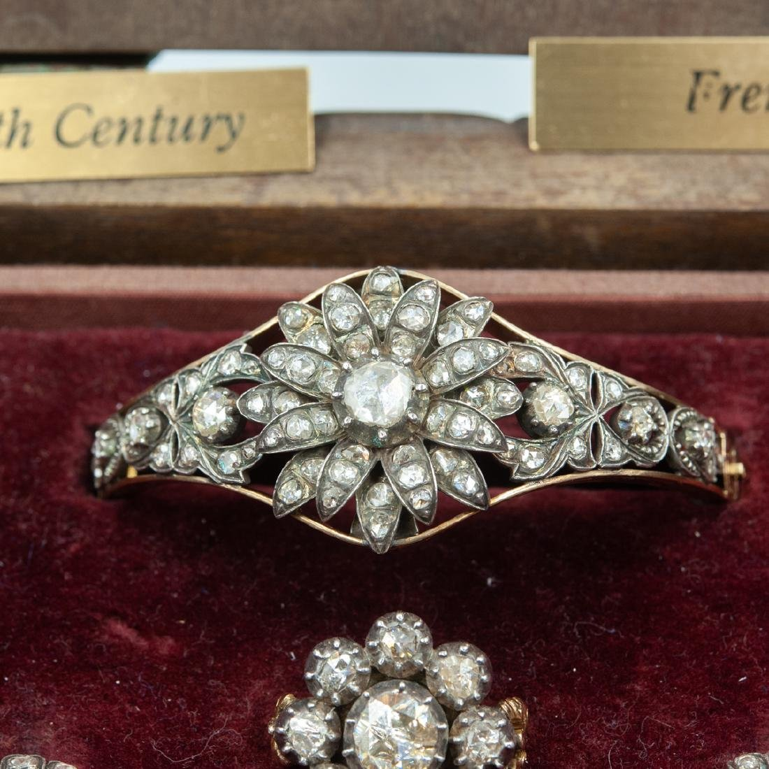 18th Century Rose Cut Diamond Set - 2