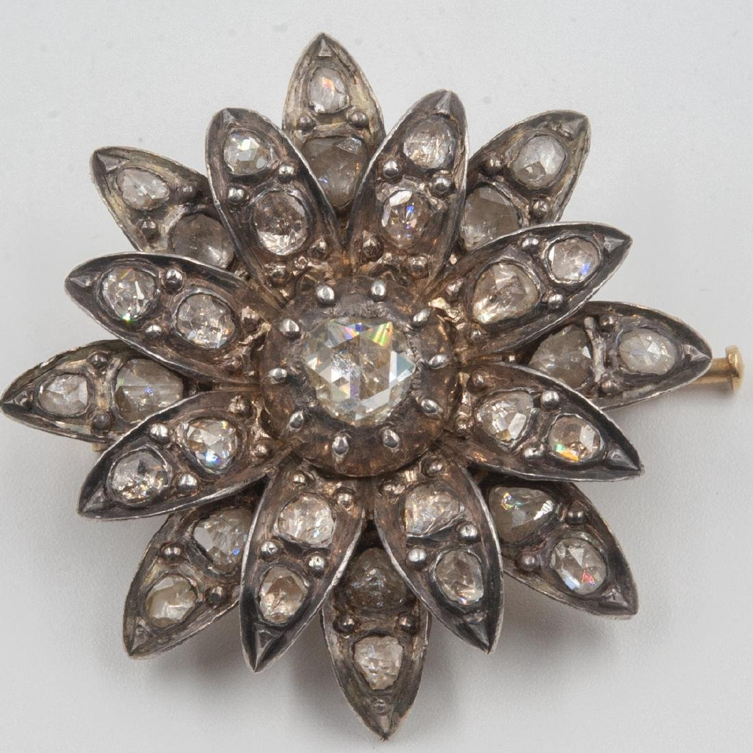 18th Century Rose Cut Diamond Set - 8