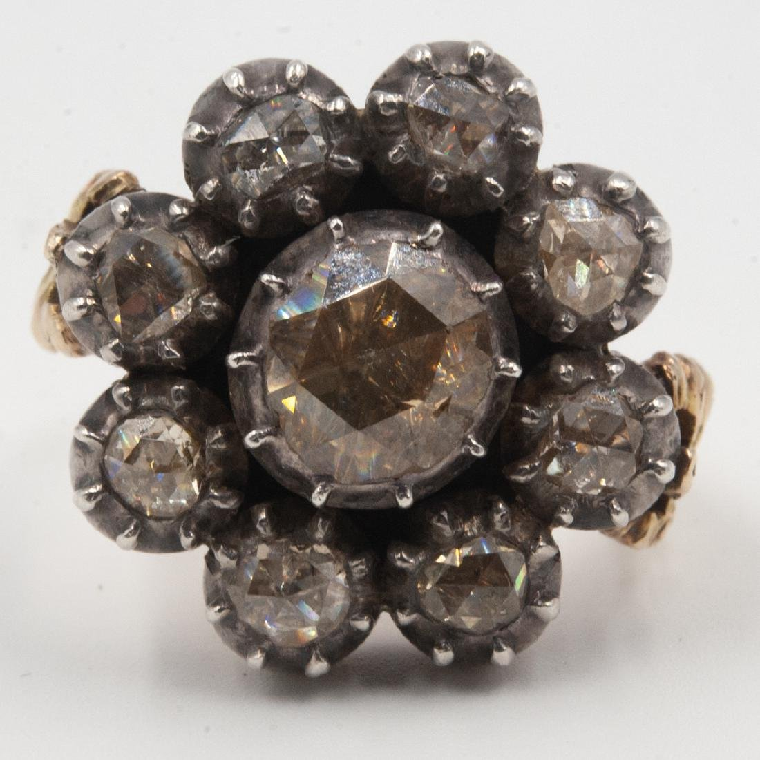 18th Century Rose Cut Diamond Set - 9
