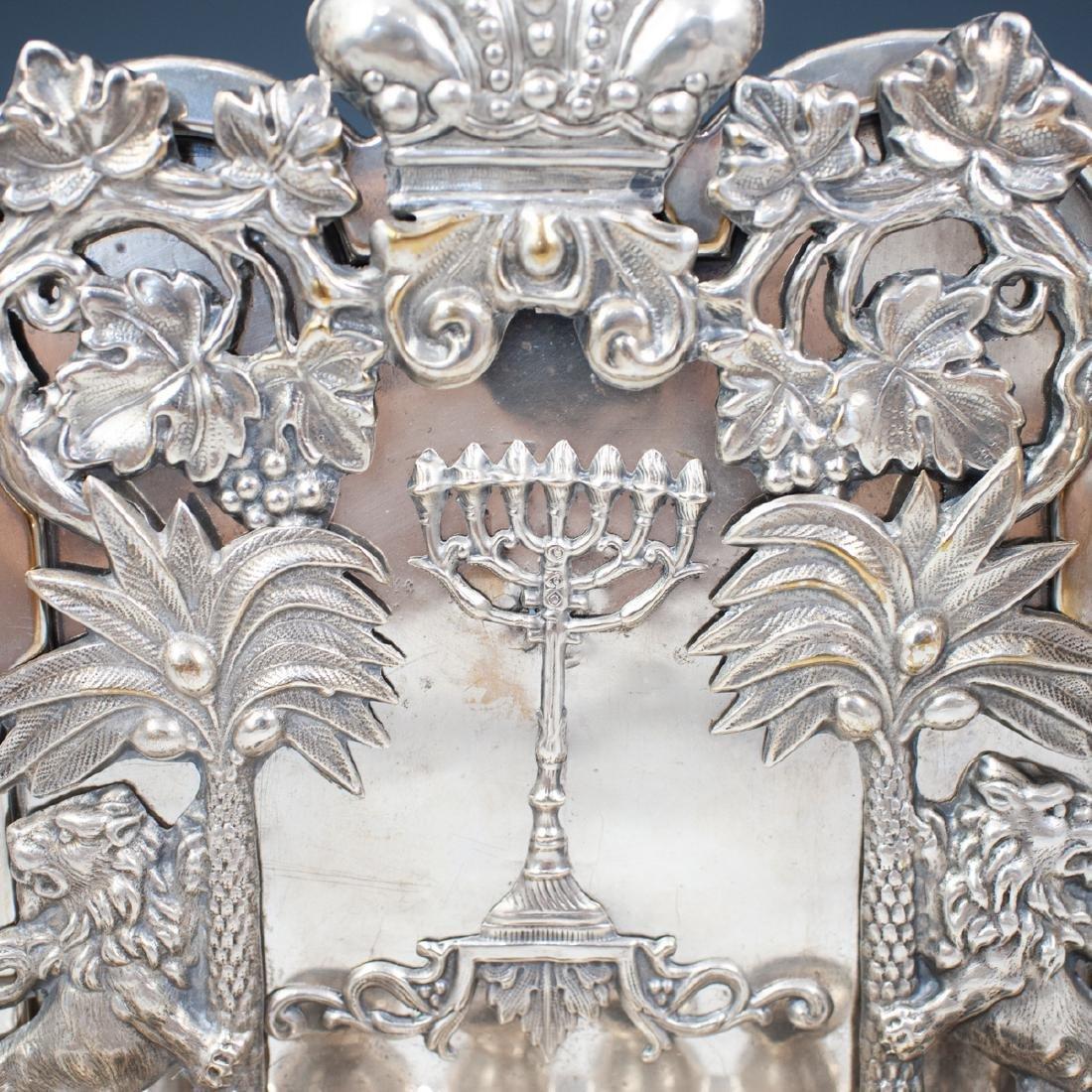 J. Ehrlich Sterling Silver Menorah - 4
