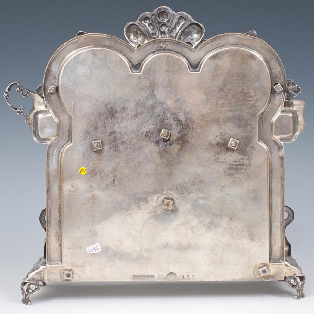 J. Ehrlich Sterling Silver Menorah - 8